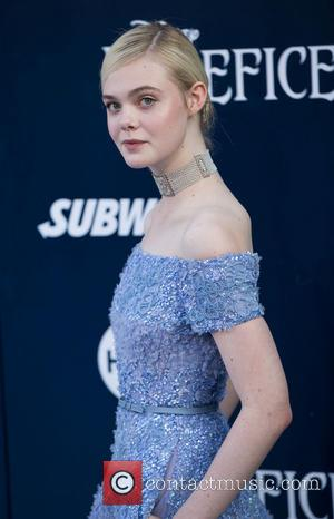Elle Fanning - World Premiere of Disney's 'Maleficent' held at the El Capitan Theatre - Arrivals - Los Angeles, California,...
