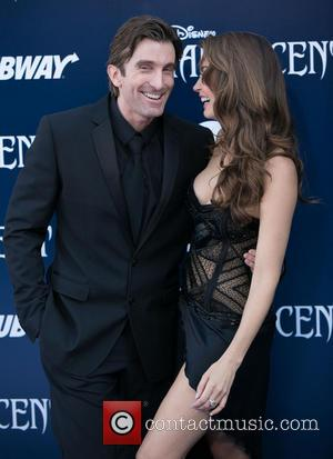 Sharlto Copley and Tanit Phoenix - World Premiere of Disney's 'Maleficent' held at the El Capitan Theatre - Arrivals -...