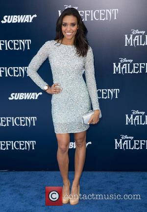 Annie Ilonzeh - World Premiere of Disney's 'Maleficent' held at the El Capitan Theatre - Arrivals - Los Angeles, California,...