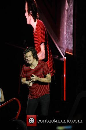 Harry Styles and One Direction - One Direction kick off 'Where We Are Tour' in Sunderland - Liverpool, United Kingdom...