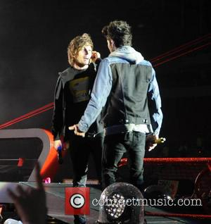 Zayn Malik, Louis Tomlinson and One Direction - One Direction kick off 'Where We Are Tour' in Sunderland - Liverpool,...