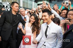 Xiaoming Huang, Angelababy and Angela Yeung - Millions of Milkshakes CEO Monica Gabor hosted guests and fans at the opening...