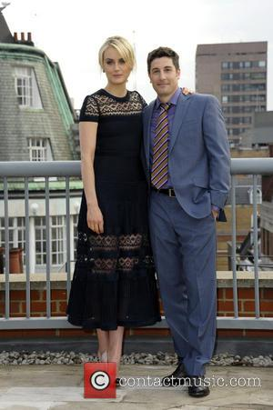 Taylor Schilling and Jason Biggs - Netflix exclusive series 'Orange Is The New Black' Photocall at the Soho Hotel -...