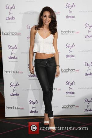 Danielle Peazer - Style For Stroke: Tee Shirt - launch party held at Werewolf Nightclub - Arrivals - London, United...