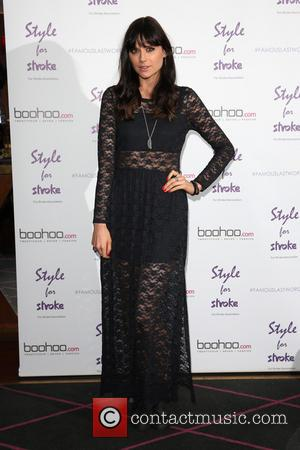 Lilah Parsons - Style For Stroke: Tee Shirt - launch party held at Werewolf Nightclub - Arrivals - London, United...