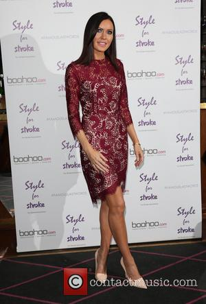 Linzi Stoppard - Style For Stroke: Tee Shirt - launch party held at Werewolf Nightclub - Arrivals - London, United...