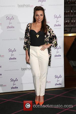 Louisa Lytton - Style For Stroke: Tee Shirt - launch party held at Werewolf Nightclub - Arrivals - London, United...