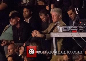 Bill Clinton - Rock in Rio Lisboa held at Parque da Bela Vista - Day 2 - Performances - Lisbon,...
