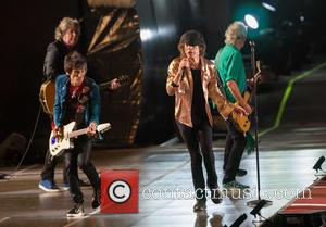 The Rolling Stones, Mick Jagger and Ronnie Wood