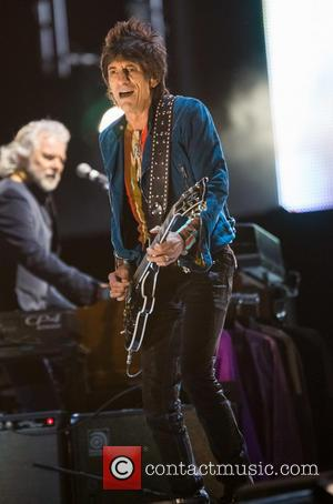 The Rolling Stones and Ronnie Wood