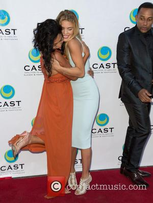 Chloe Flower, Annalynne Mccord and Hill Harper
