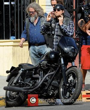 Charlie Hunnam and Mark Boone Junior