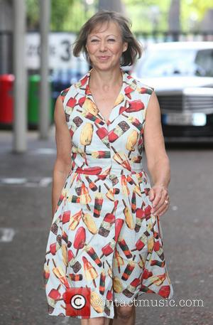 Jenny Agutter - Jenny Agutter outside the ITV studios - London, United Kingdom - Thursday 29th May 2014