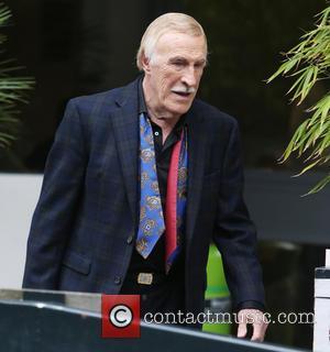 Sir Bruce Forsyth - Sir Bruce Forsyth outside the ITV studios - London, United Kingdom - Thursday 29th May 2014