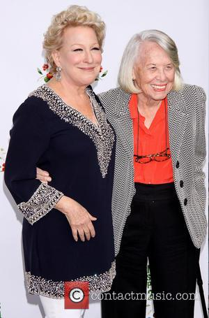 Bette Midler and Liz Smith