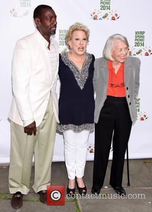 Ron Finley, Bette Midler and Liz Smith