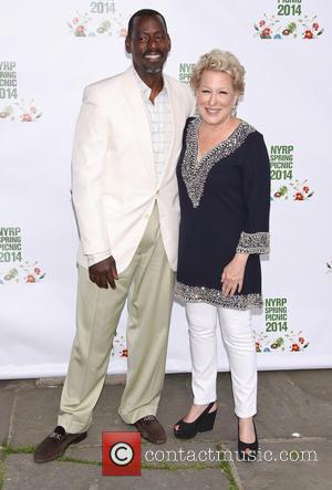 Ron Finley and Bette Midler