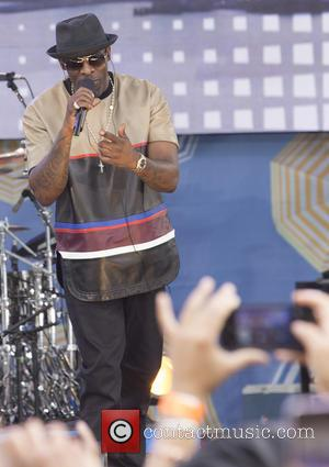 Joe - 50 Cent performs live on Good Morning America to promote 'Animal Ambition' his first album in five years....
