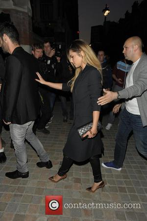 Cheryl Cole - Celebrities at Chiltern Firehouse - London, United Kingdom - Friday 30th May 2014