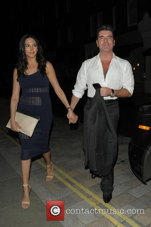 Lauren Silverman and Simon Cowell - Celebrities at Chiltern Firehouse - London, United Kingdom - Friday 30th May 2014