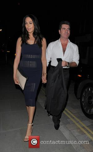 Simon Cowell and Lauren Silverman - Simon Cowell and Lauren Silverman spotted at Chiltern Firehouse - London, United Kingdom -...
