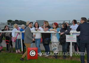 MATT CARDLE and Fan Club - Acoustic Festival of Britain at Uttoxeter Racecourse - Day 1 - Uttoxeter, United Kingdom...