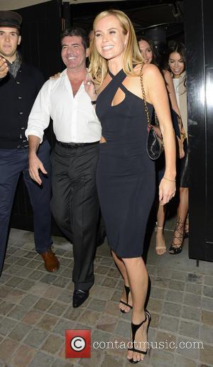 Simon Cowell and Amanda Holden