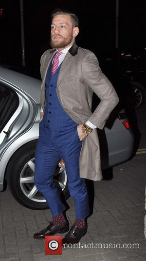 Conor McGregor - Celebrities leave the RTE studios - Dublin, Ireland - Friday 30th May 2014