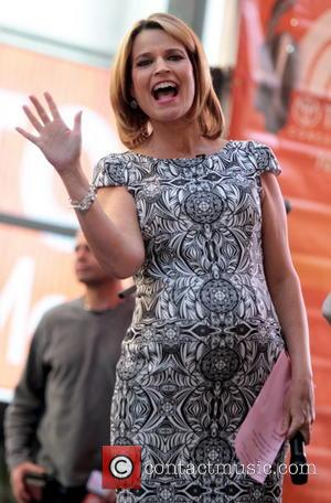 Savannah Guthrie - Celebrities appear on 'The Today Show' - New York, United States - Friday 30th May 2014