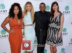 Chloe Flower, AnnaLynne McCord, Hill Harper and Sara Rue - Celebrities attend CAST's 16th Annual From Slavery to Freedom Gala...