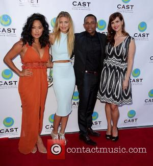 Chloe Flower, Annalynne Mccord, Hill Harper and Sara Rue