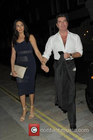 Simon Cowell and Lauren Silverman - Celebrities at Chiltern Firehouse - London, United Kingdom - Friday 30th May 2014