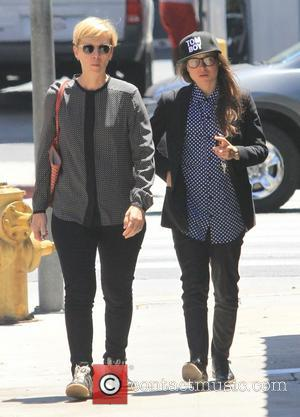 Ellen Page - Ellen Page spotted out in West Hollywood with a friend - Los Angeles, California, United States -...