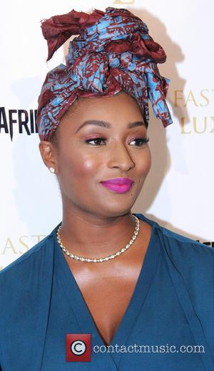 Toccara Jones - Afrika Fifty6 presents a benefit concert for our girls of Nigeria - Los Angeles, California, United States...