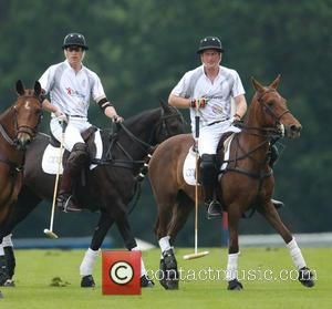 Prince Harry, Prince William and Duke of Cambridge - Prince William Duke of Cambridge and Prince Harry compete in The...