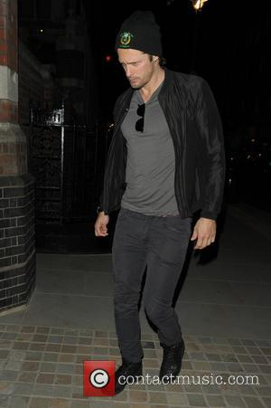 Alexander Skarsgard - Celebrities at Chiltern Firehouse - London, United Kingdom - Saturday 31st May 2014