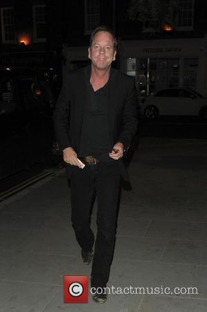 Kiefer Sutherland - Celebrities at Chiltern Firehouse - London, United Kingdom - Saturday 31st May 2014