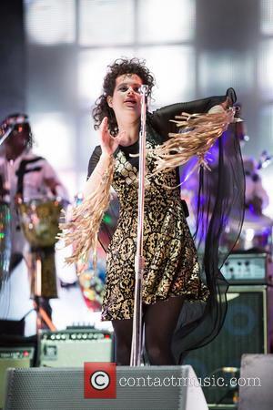 Arcade Fire - Rock in Rio Lisboa held at Parque da Bela Vista - Day 4 - Performances - Lisbon,...
