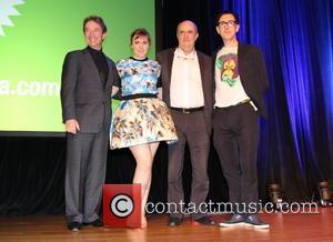 Martin Short, Lena Dunham and Alan Cummings