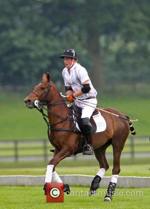 Prince Harry - Prince Harry and Prince William play polo at Audi Challenge - Ascot, United Kingdom - Saturday 31st...