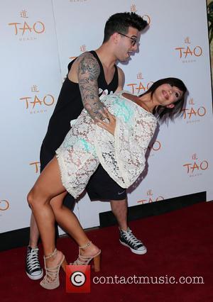 Mark Ballas and Cheryl Burke - Celebrities attend a birthday celebration at TAO Beach - Arrivals - Las Vegas, Nevada,...