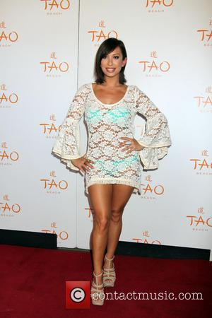Cheryl Burke - Celebrities attend a birthday celebration at TAO Beach - Arrivals - Las Vegas, Nevada, United States -...