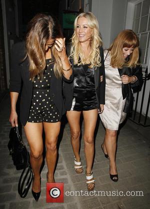 Denise Van Outen - Celebrities attend Denise Van Outen's birthday party at Disco in Soho - London, United Kingdom -...