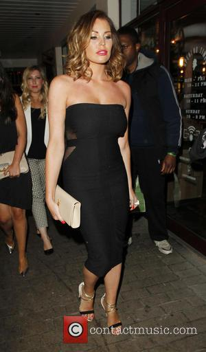Jessica Wrigt - Celebrities attend Denise Van Outen's birthday party at Disco in Soho - London, United Kingdom - Saturday...