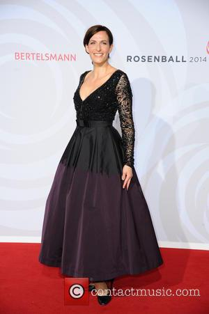 Ulrike Frank - Rosenball 2014 at InterContinental Berlin - Arrivals - Berlin, Germany - Saturday 31st May 2014