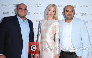 Hratch G, Jaime King and Zaven G