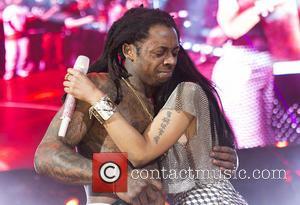 Lil Wayne and Nicki Minaj - Nicki Minaj performs live during Summer Jam 2014 at the Met Life Stadium -...