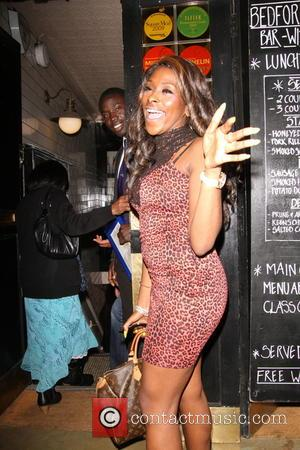 Sheneice Burke - X Factor winner Alexandra Burke headed to the Bedford and Strand wine bar following her debut performance...
