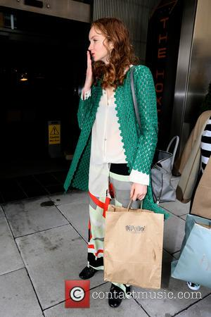 Lily Cole - Lily Cole leaves the Veja launch event - London, United Kingdom - Monday 2nd June 2014