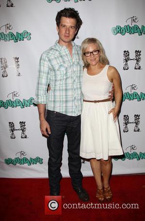 Christian Hable and Rachael Harris